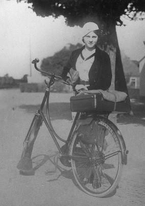 moeders op fiets